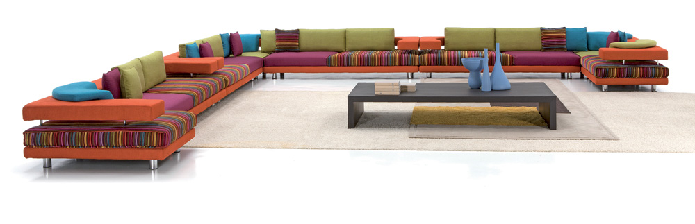 Because Searching Harmony Within Differences Is What Has Made Giorgio  Saporiti S Design What It Is Today.